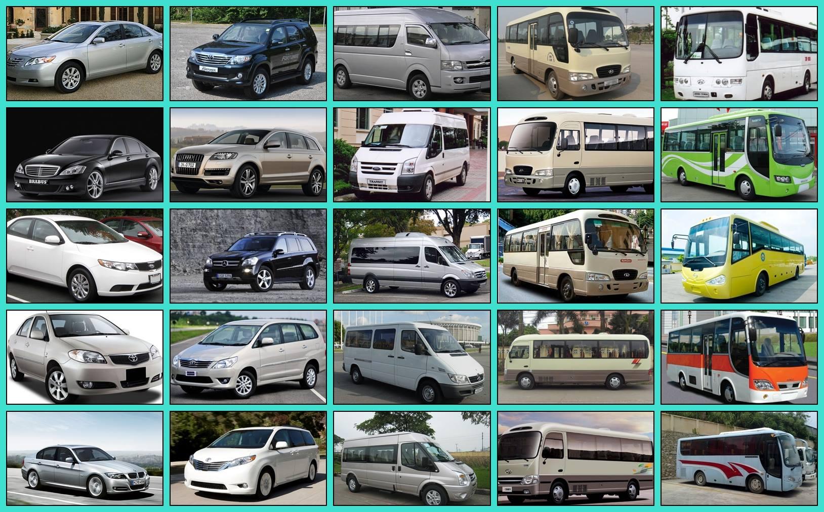 Dịch vụ cho thuê xe tại Đà Nẵng từ 4-45 chỗ
