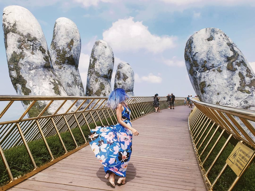 Cầu vàng Đà Nẵng còn vào top 100 điểm đến tuyệt vời nhất thế giới năm 2018 do tạp chí Time (Mỹ) bình chọn