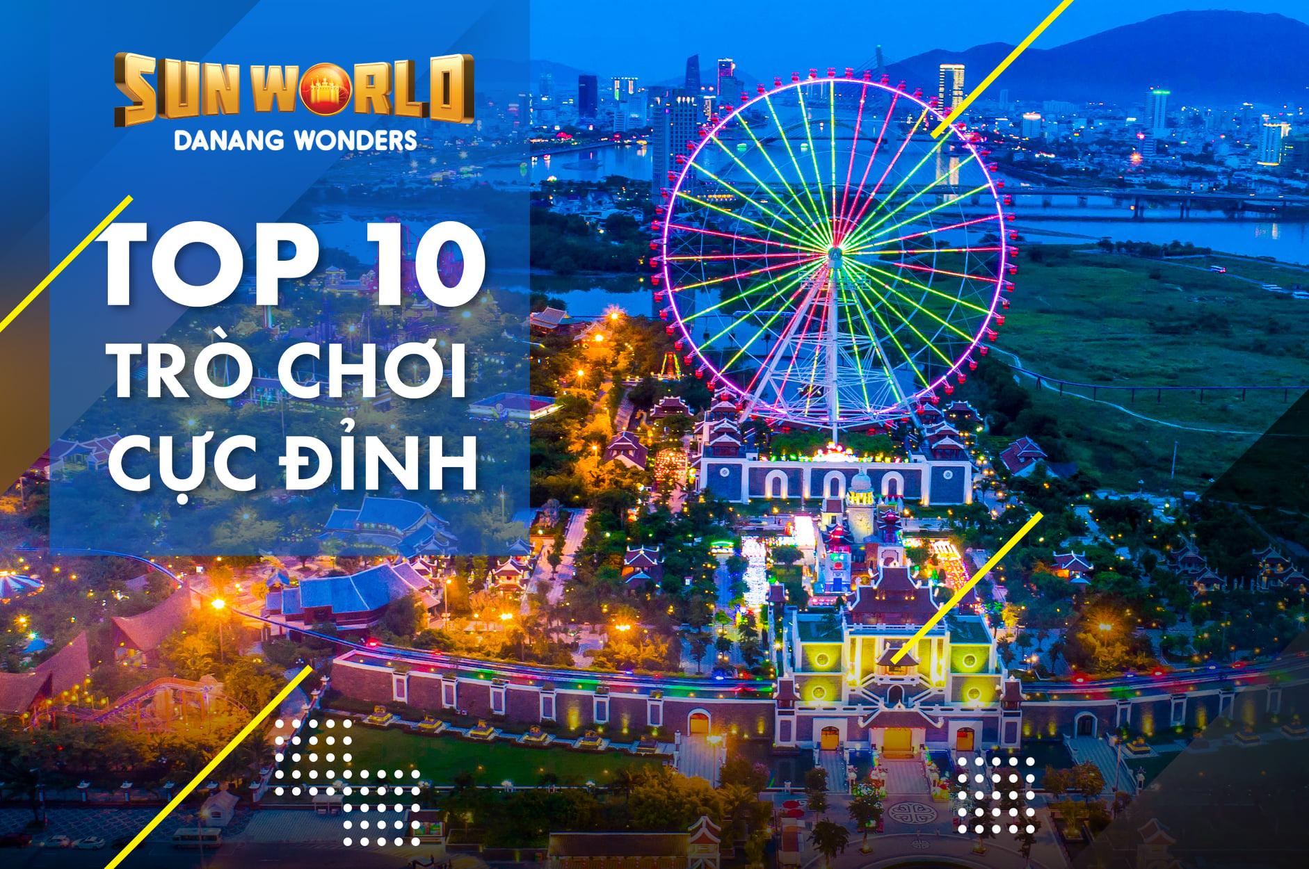Top 10 trò chơi cực đỉnh asia park đà nẵng