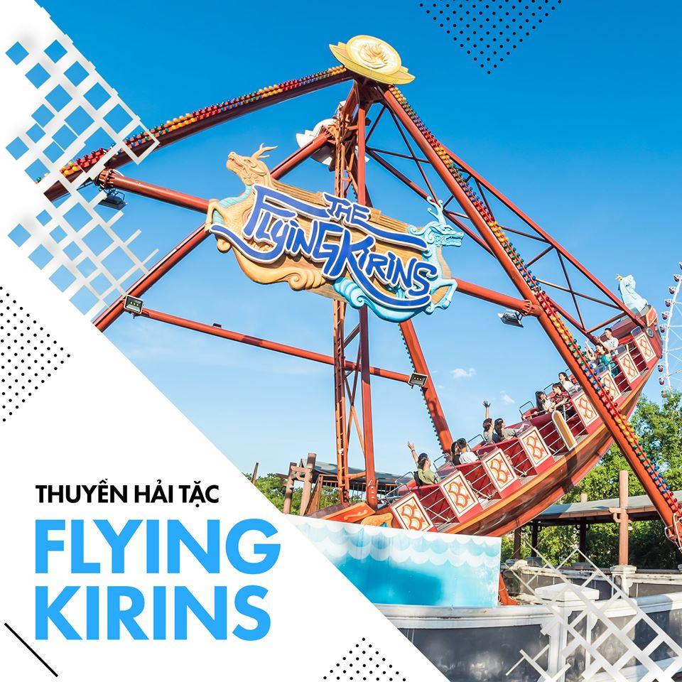 The Flying Kirins – Con tàu cướp biển đầy hiểm nguy
