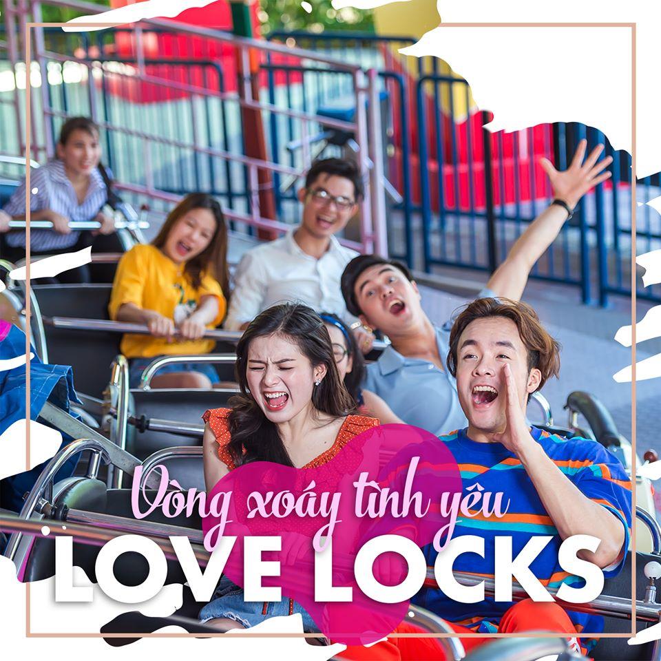Love Locks – Vòng xoay âm nhạc đầy phấn khích