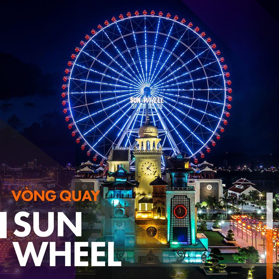Vòng quay Sun Wheel tại Asia Park – Công viên Châu Á