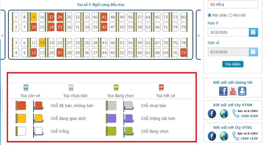 Có hướng dẫn chi tiết ở phía dưới mục chọn ghế bạn nhé