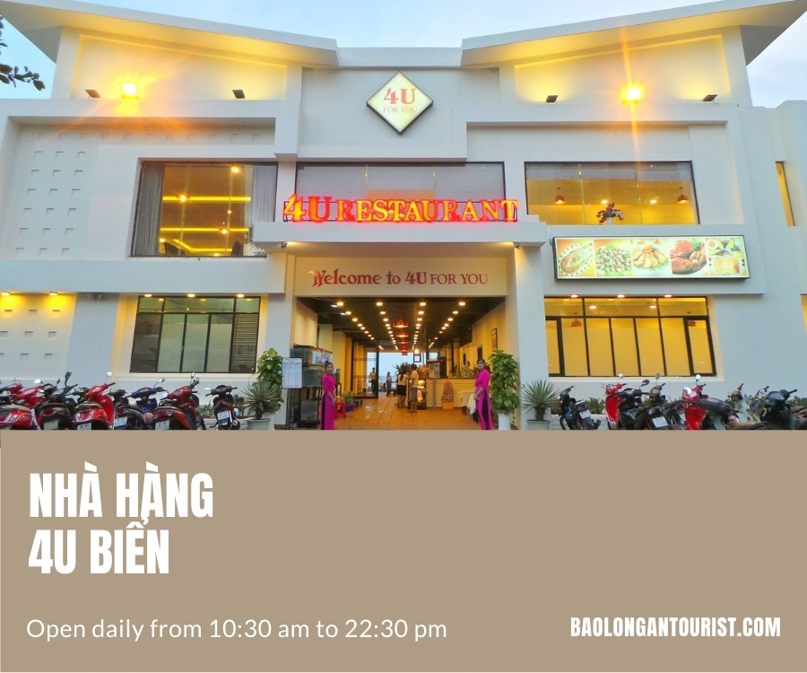 Nhà hàng hải sản Đà Nẵng 4U Biển